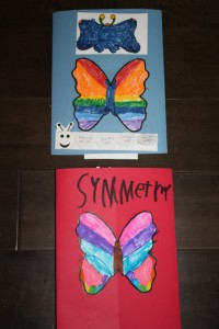 Back page of butterfly lapbooks.